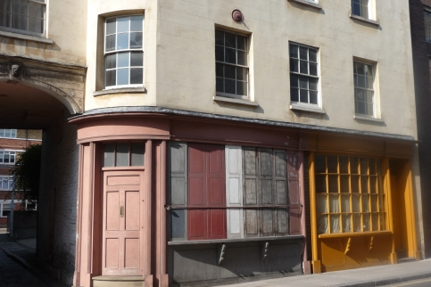 Fig. 2 Bermondsey shop fronts